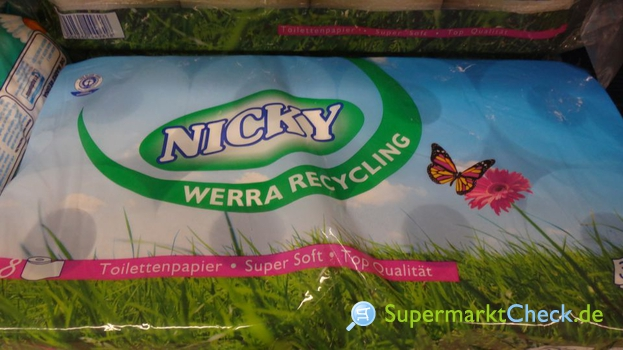 Foto von Nicky Recycling Toilettenpapier