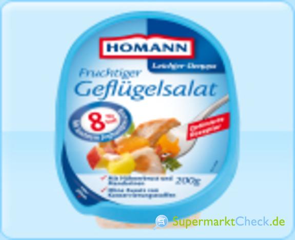 Foto von Homann Leichter Genuss Fruchtiger Geflügelsalat