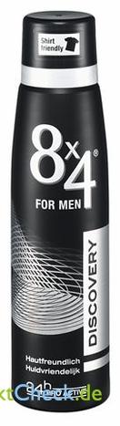 Foto von 8x4 for Men Deo Spray