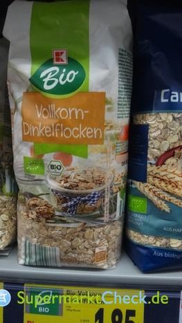 Foto von K Bio Vollkorn-Dinkelflocken