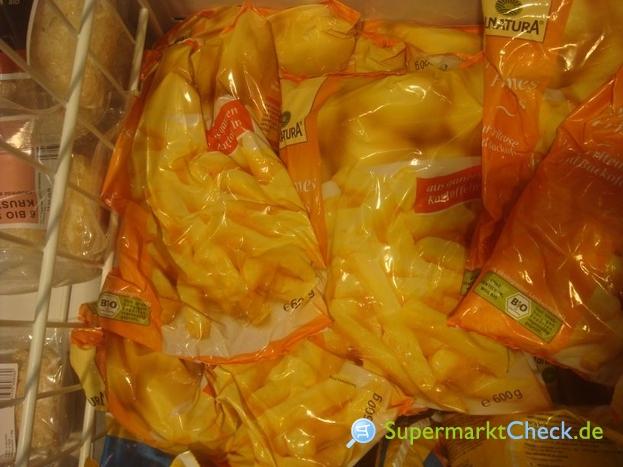 Foto von Alnatura Bio Pommes Frites