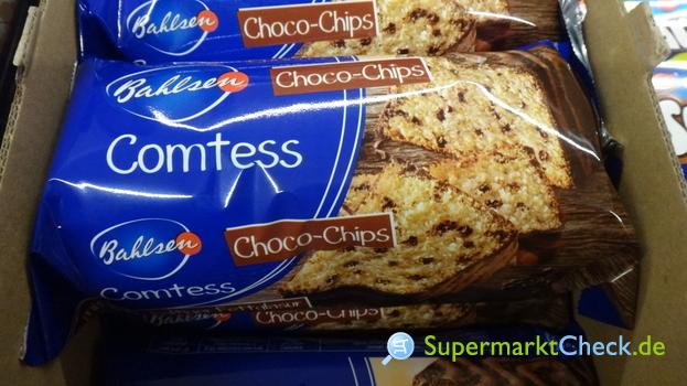 Foto von Bahlsen Comtess Choco Chips