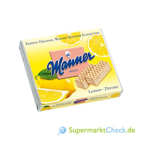 Foto von Manner Zitronencreme-Schnitten