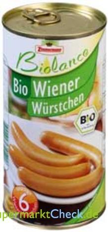Foto von Zimmermann Biolance Bio Wiener Würstchen