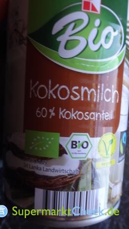 Foto von K Bio Kokosnuss Milch