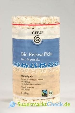 Foto von Gepa Bio Reiswaffeln