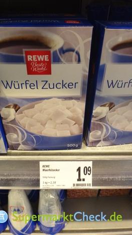 Foto von REWE Beste Wahl Würfelzucker