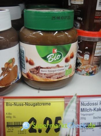Foto von K Bio Nuss-Nougat-Creme