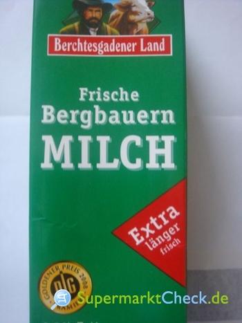 Foto von Berchtesgadener Land Frische Bergbauern Milch