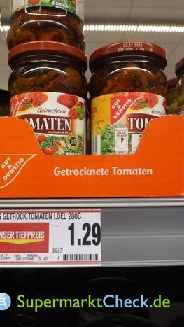 Foto von Gut & Günstig getrocknete Tomaten