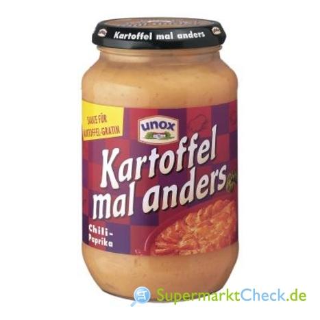 Foto von Unox Kartoffel mal anders Sauce