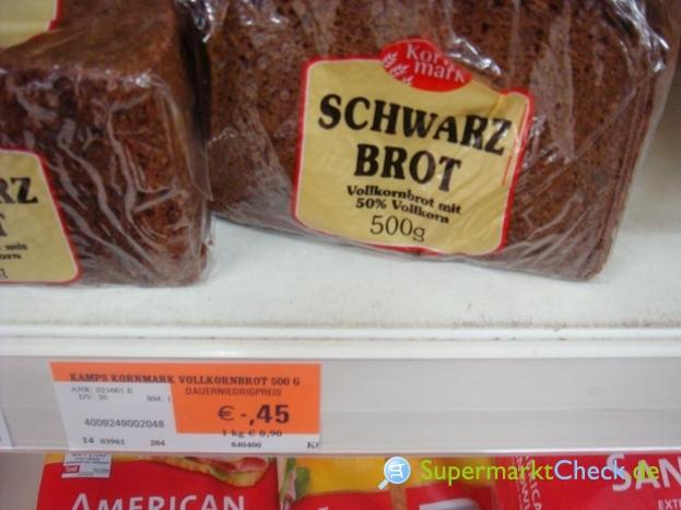 Foto von Kornmark Schwarz Brot