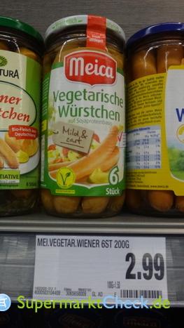 Foto von Meica Vegetarische Würstchen