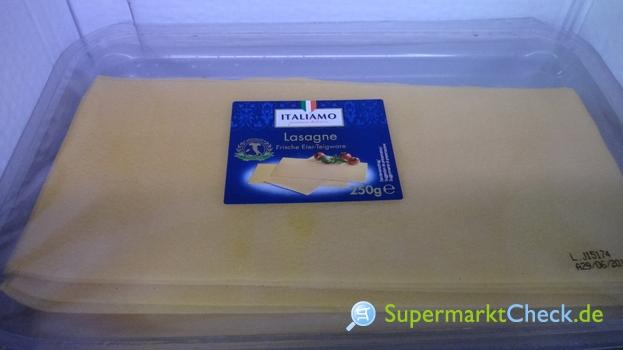 Foto von Italiamo Frische Lasagne Eier Teigware