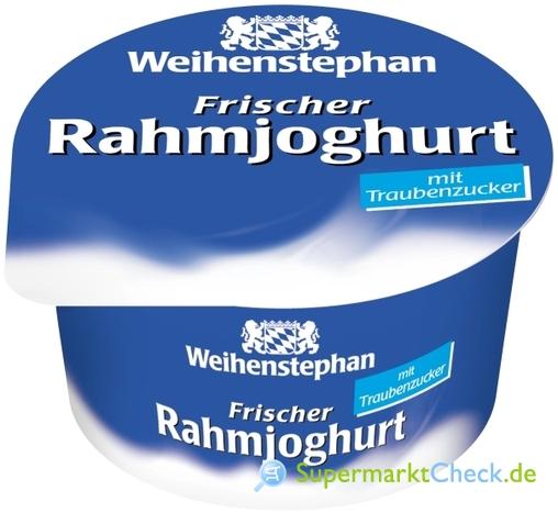 Foto von Weihenstephan Rahmjoghurt cremig-mild