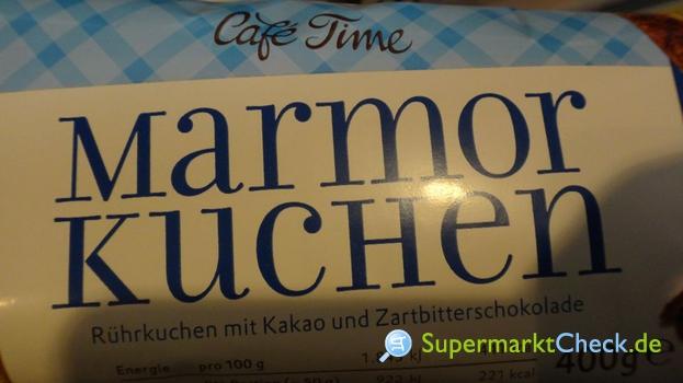 Foto von Cafe Time Marmor Kuchen