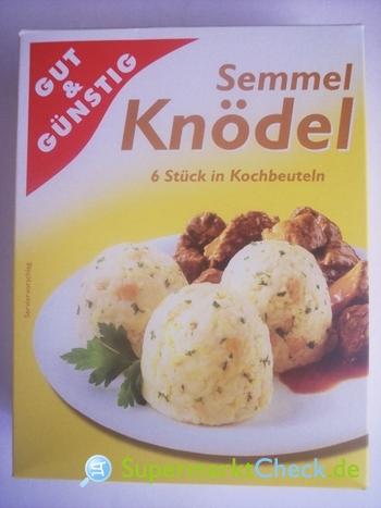 Foto von Gut & Günstig Semmel Knödel