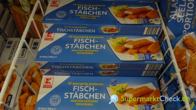 Foto von K Classic Fischstäbchen