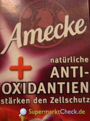 Foto von Amecke + Anti-Oxidantien