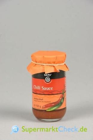 Foto von Gepa Chili Soße