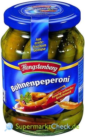 Foto von Hengstenberg Bohnenpeperoni