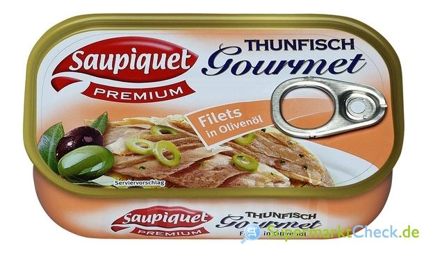 Foto von Saupiquet Thunfisch Gourmet Filets