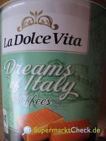 Foto von La Dolce Vita Dreams of Italy Toffees