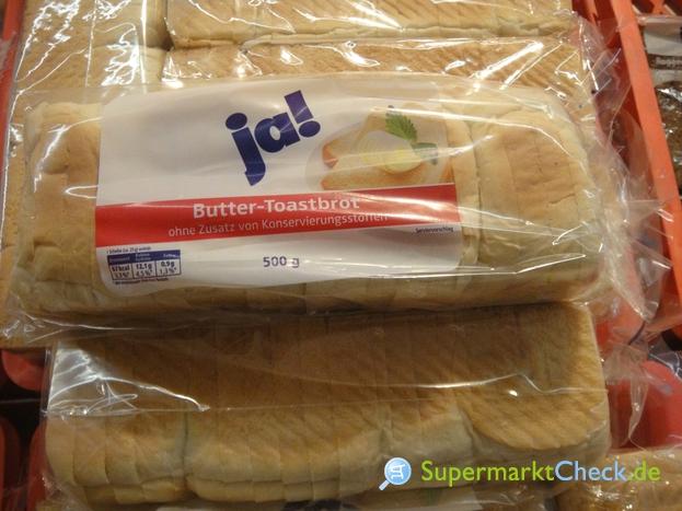 Foto von Ja! Butter Toastbrot