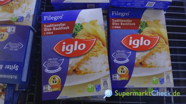 Foto von Iglo Filegro Backfisch