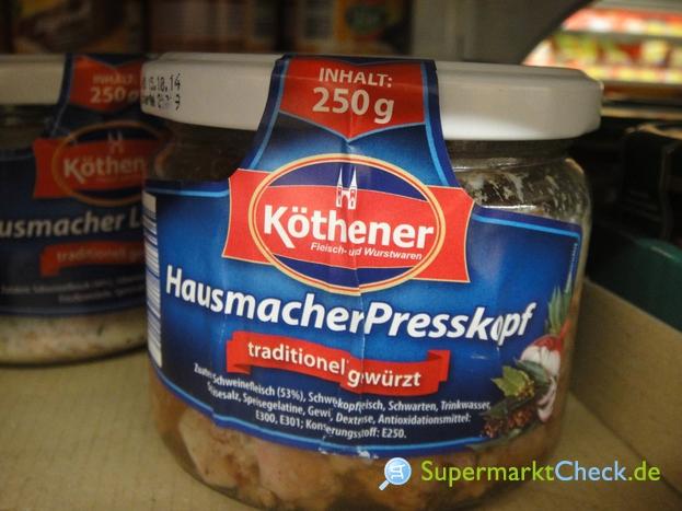 Foto von Köthener Hausmacher Presskopf