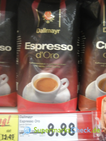 Foto von Dallmayr Espresso d Oro