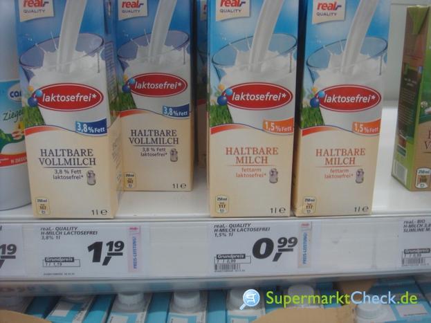 Foto von real Quality Haltbare Milch laktosefrei