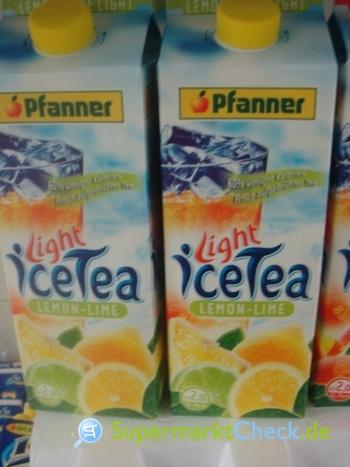 Foto von Pfanner Light Ice Tee