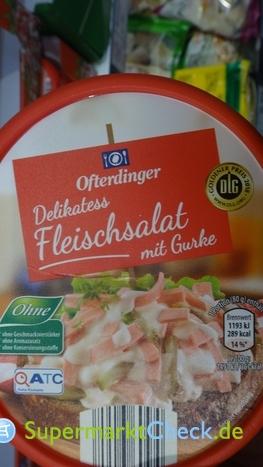 Foto von Ofterdinger Aldi Nord Delikatess Fleischsalat