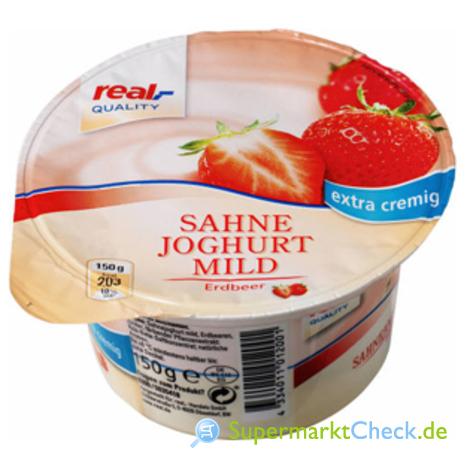 Foto von real Quality Sahne Joghurt Mild