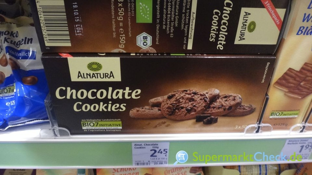 Foto von Alnatura Chocolate Cookies