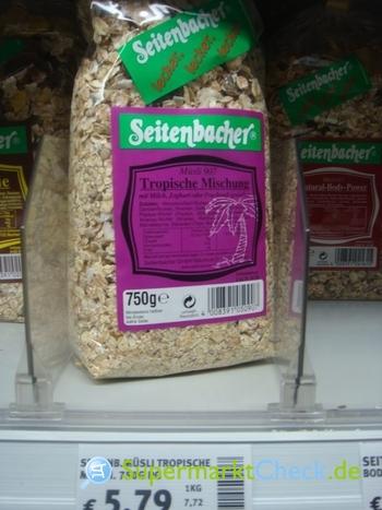Foto von Seitenbacher Müsli 907
