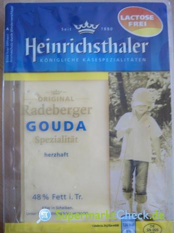 Foto von Heinrichsthaler Original Radeberger Gouda
