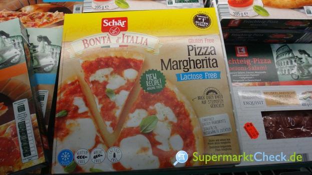 Foto von Schär Pizza Margharita glutenfrei