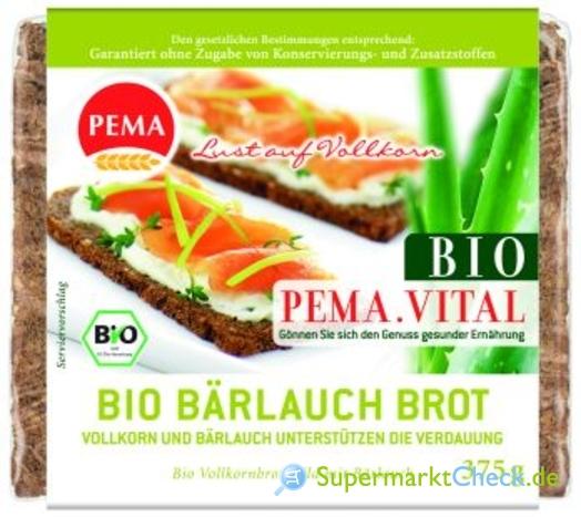 Foto von Pema Bio Bärlauch Brot