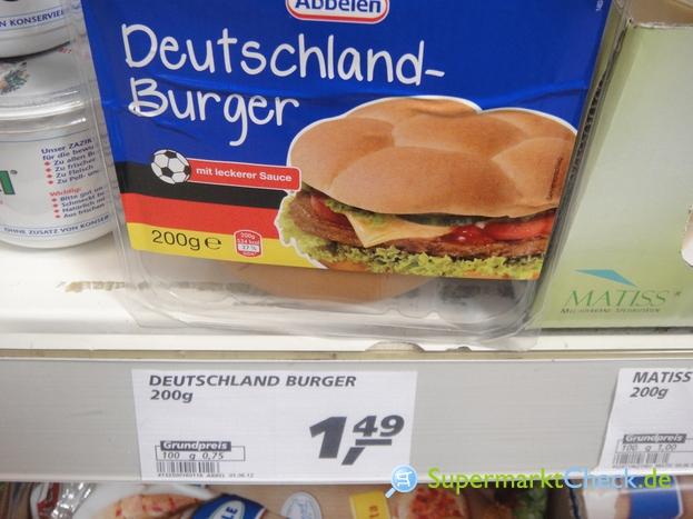 Foto von Abbelen Deutschland Burger