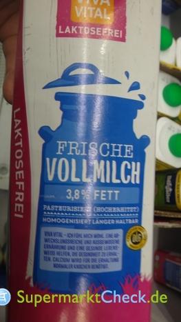Foto von Viva Vital Frische Vollmilch laktosefrei