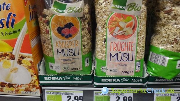 Foto von Edeka Bio Früchte-Müsli