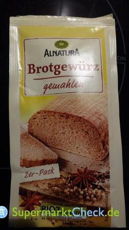 Foto von Alnatura Brot Gewürz