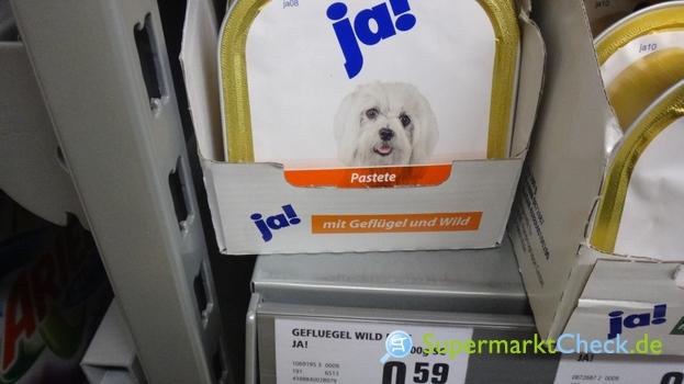 Foto von Ja! Hundemenü