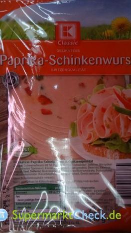 Foto von K Classic Paprika Schinkenwurst
