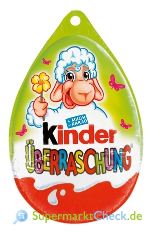 Foto von Ferrero Kinder Überraschungs Ei