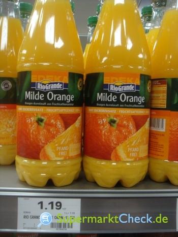 Foto von Rio Grande Milde Orange