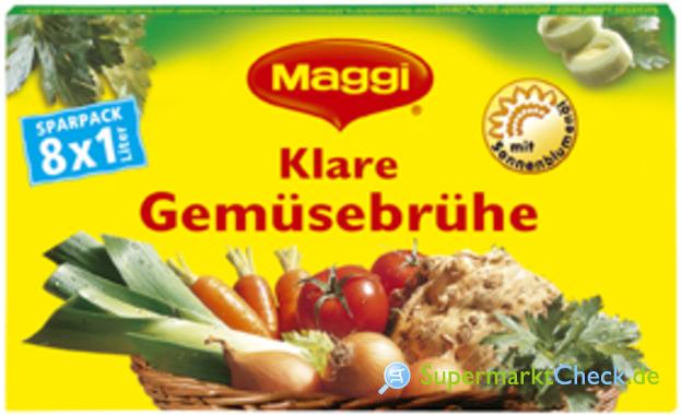 Foto von Maggi Klare Gemüsebrühe
