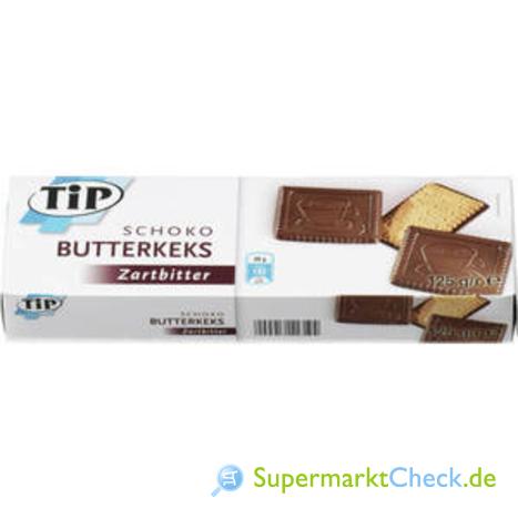 Foto von TIP Schoko-Butter Keks